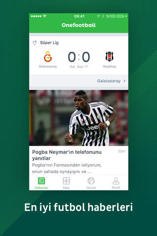 Onefootball Soccer News screenshot 1