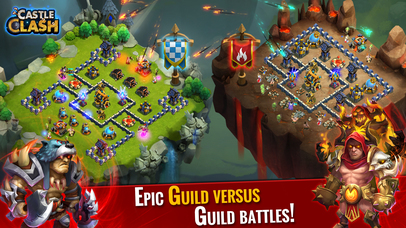 Screenshots of Castle Clash: Age of Legends for iPhone