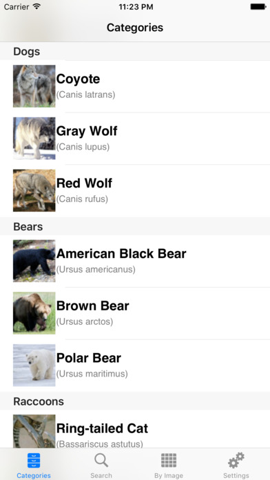 North America Wildlife Guide iPhone Screenshot 2