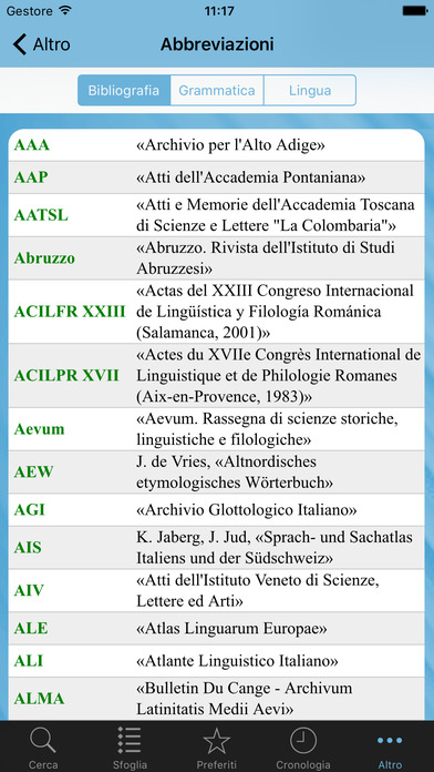 l'Etimologico iPhone Screenshot 4