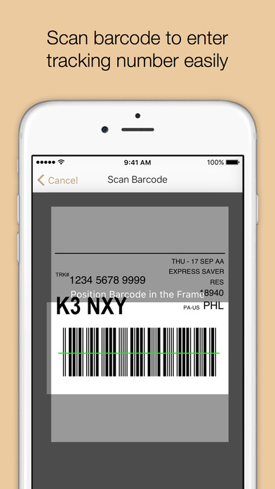 Where's My Package? iPhone Screenshot 4