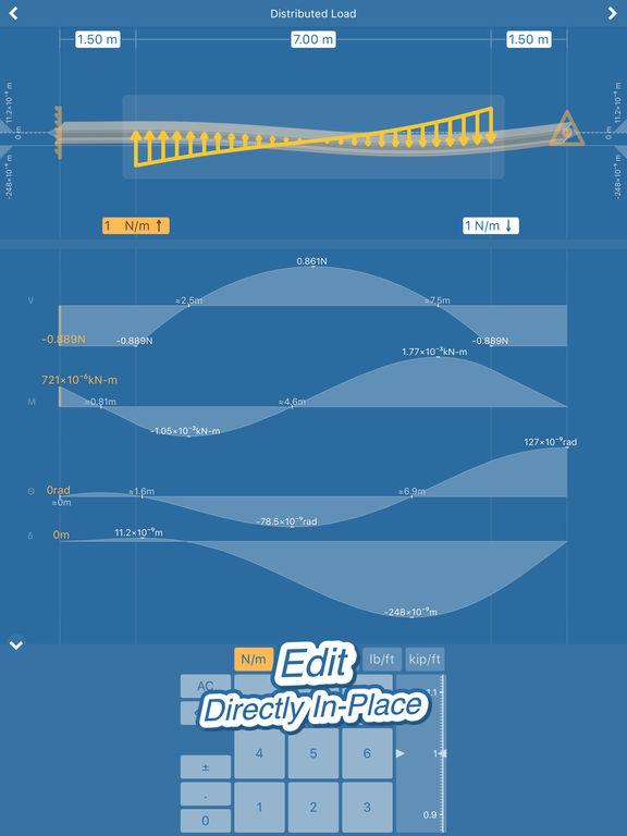 Beam Deflection for Mechanical Engineering Screenshots