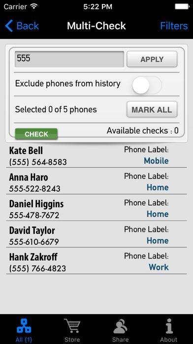 DoubleCheck iPhone Screenshot 5