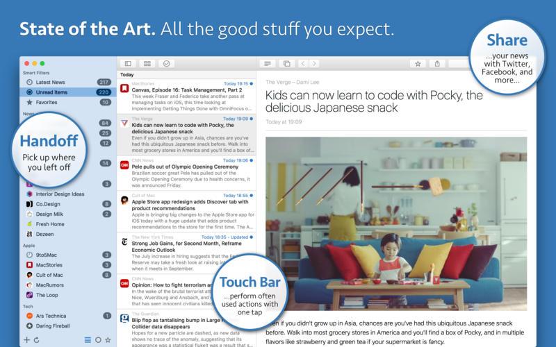 News Explorer for Mac 1.8.8 破解版 – 优秀的新闻订阅客户端-爱情守望者