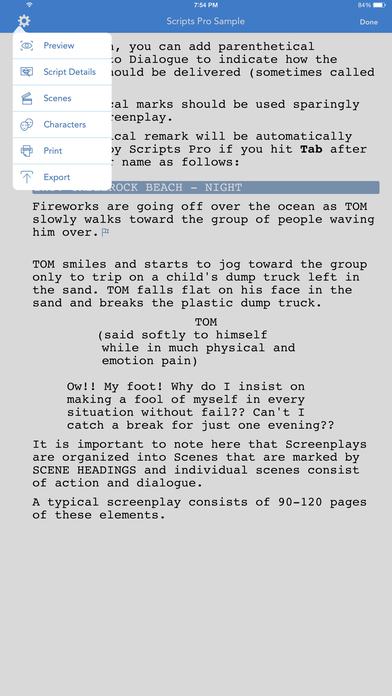 Scripts Pro iPhone Screenshot 3
