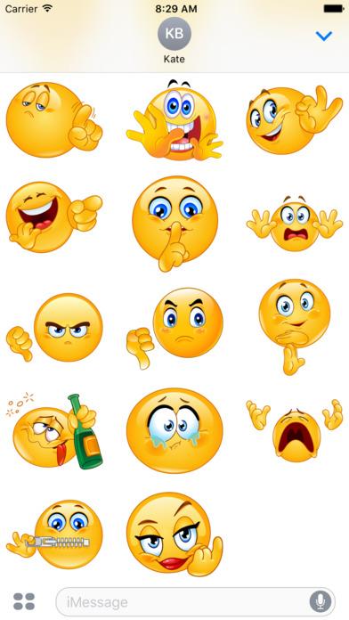 Sticker imessage - App Shopper Rude Emoji Stickers Stickers