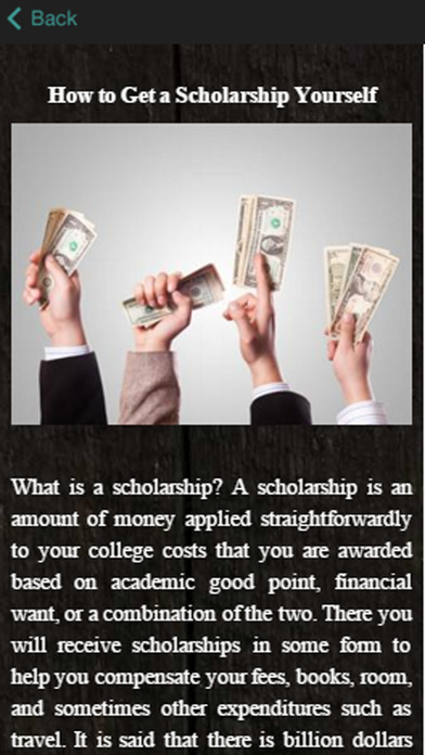Can i help myself get a scholarship to college?