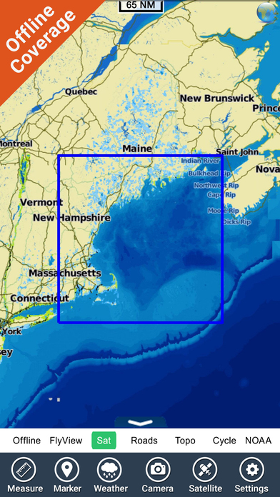 Marine: Rhode Island to Maine HD iPhone Screenshot 5