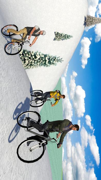 Off road Bicycle Rider Race screenshot 1