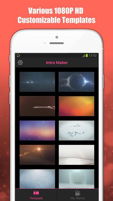 App shopper intro maker hd design intros entertainment for Imovie intros templates