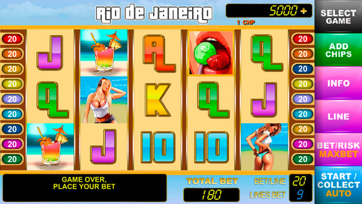 Casino RIO VIP - emulator of slot machines Screenshots