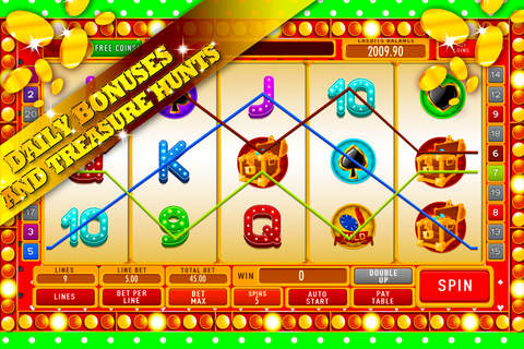 Lucky Holdem Poker Slot Machine: Big addicted casino prizes screenshot 3