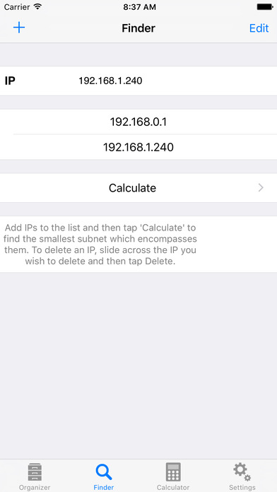 Subnet Calc Pro iPhone Screenshot 5