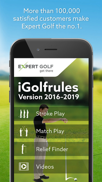 Golf Rules Quick Reference iPhone Screenshot 1