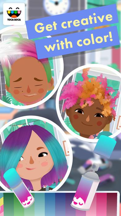 Toca Hair Salon 3 Apps for iPhone/iPad screenshot