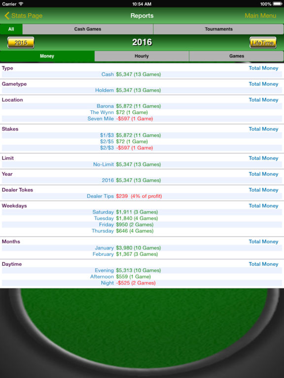 Poker Track Pro Screenshots