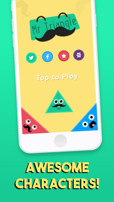 Mr. Triangle screenshot 1