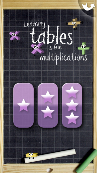 Learning tables is fun iPhone Screenshot 4