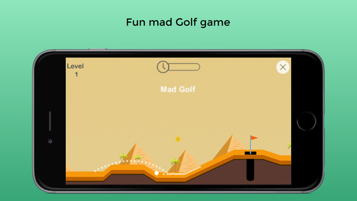 Mad Golf Screenshot