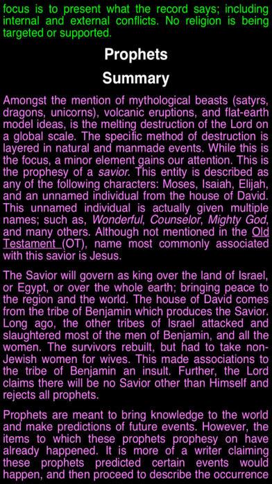 Summary King James Bible (part 6) iPhone Screenshot 3