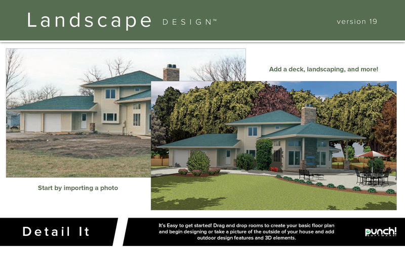 Punch landscape design 19 punch landscape design 19 mac for Punch home landscape design for mac