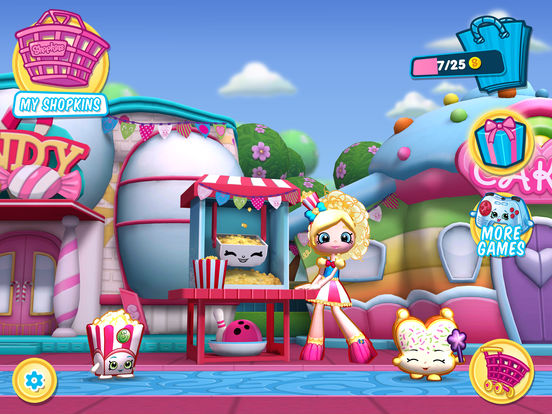 how to play shopkins app