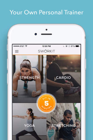 Sworkit: Workouts & Plans screenshot 1