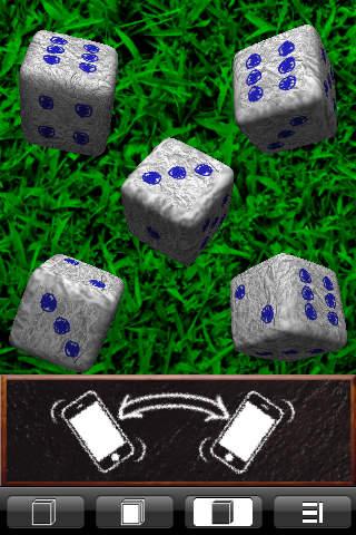 Yams 3D ★The French Poker Dice★ iPhone Screenshot 1