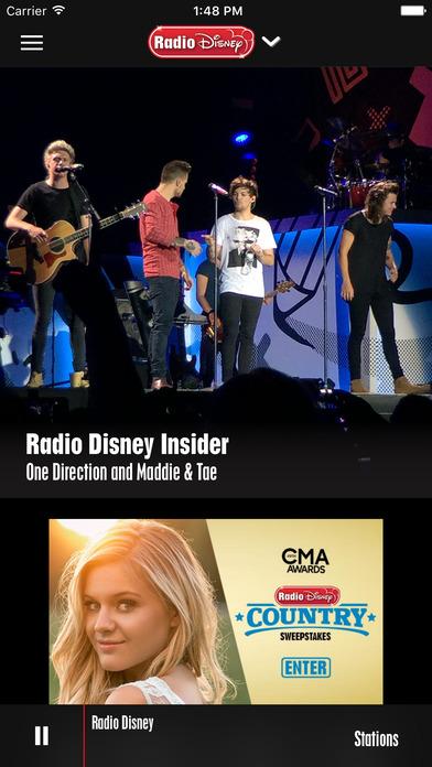 Radio Disney iPhone Screenshot 1