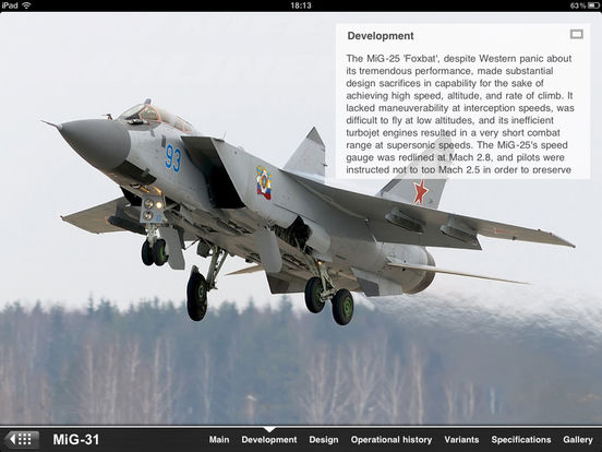 Russian Military Aircraft Appreciate Guide iPad Screenshot 2