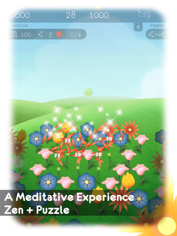 Into The Winds - Zen Flowers Screenshot
