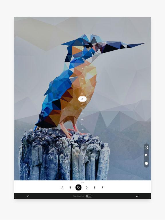 Trigraphy Art Photo Editor Screenshots
