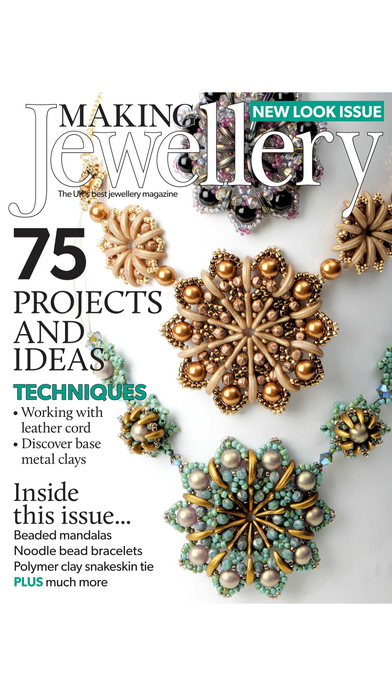 Making Jewellery Magazine iPhone Screenshot 4