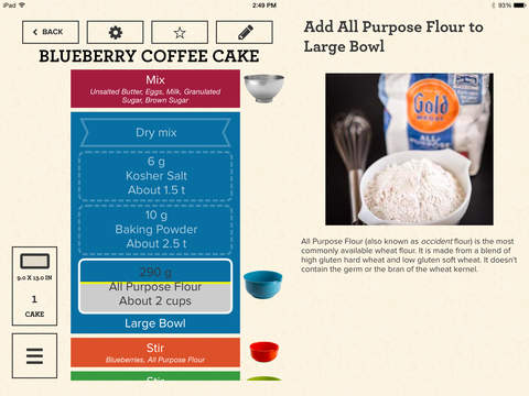 Baking an art or a science introducing the perfect bake for Perfect bake smart scale
