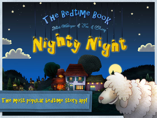 Nighty Night! - The bedtime story app Screenshots