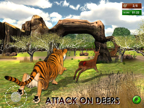 3D Wild Tiger Hungry Tiger Real Simulator Screenshots