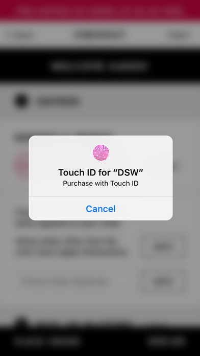Screenshots of DSW Designer Shoe Warehouse for iPhone