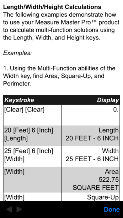 Measure Master Pro Feet Inch Fraction Calculator app image