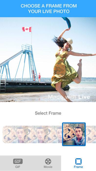 Live  - Live Photo to Video & Live Photo to Gif screenshot 3