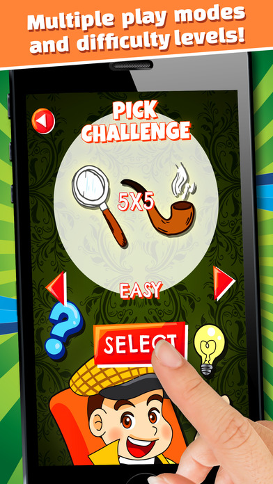 The Secret Mystery Clue Line - FREE - Detective Seek & Find Object Match Up-2