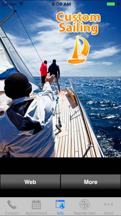 Custom Sailing iPhone Screenshot 1