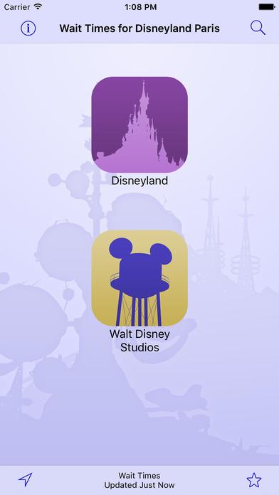 Disneyland Paris Wait Times iPhone Screenshot 3