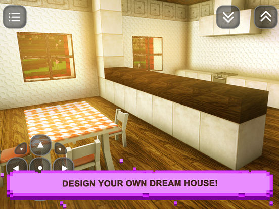 Dream house design sim craft interior exploration apprecs for Interior design simulator