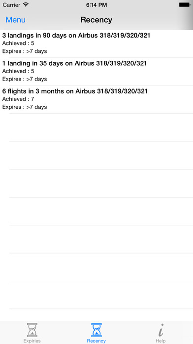 PilotLog Offline iPhone Screenshot 4