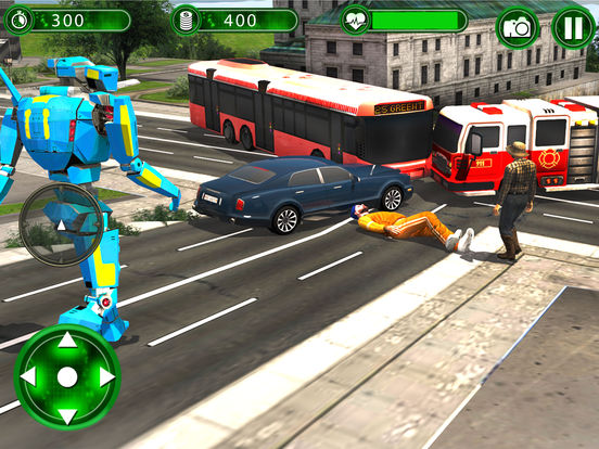 Super Helicopter Robot Hero screenshot 10