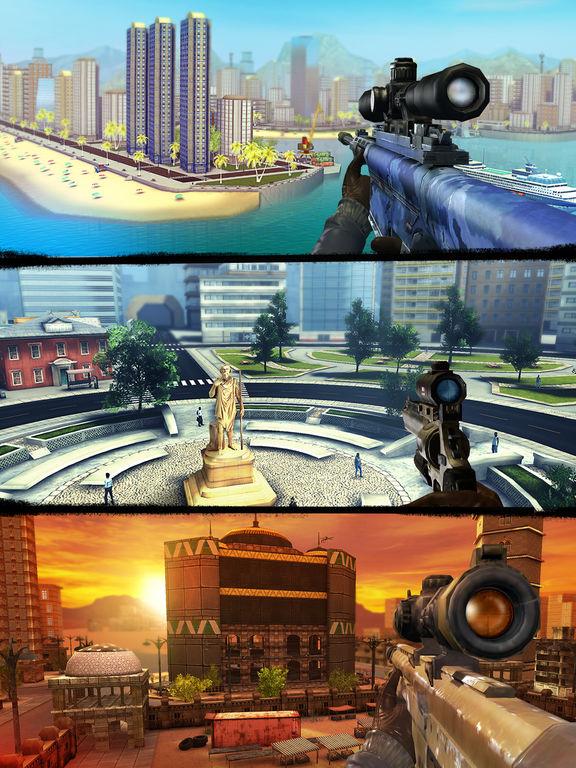 Sniper 3D Assassin: Shoot to Kill Gun Gamescreeshot 3