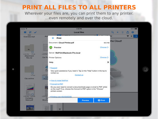 PrintCentral Pro For iPad Has First Free Sale