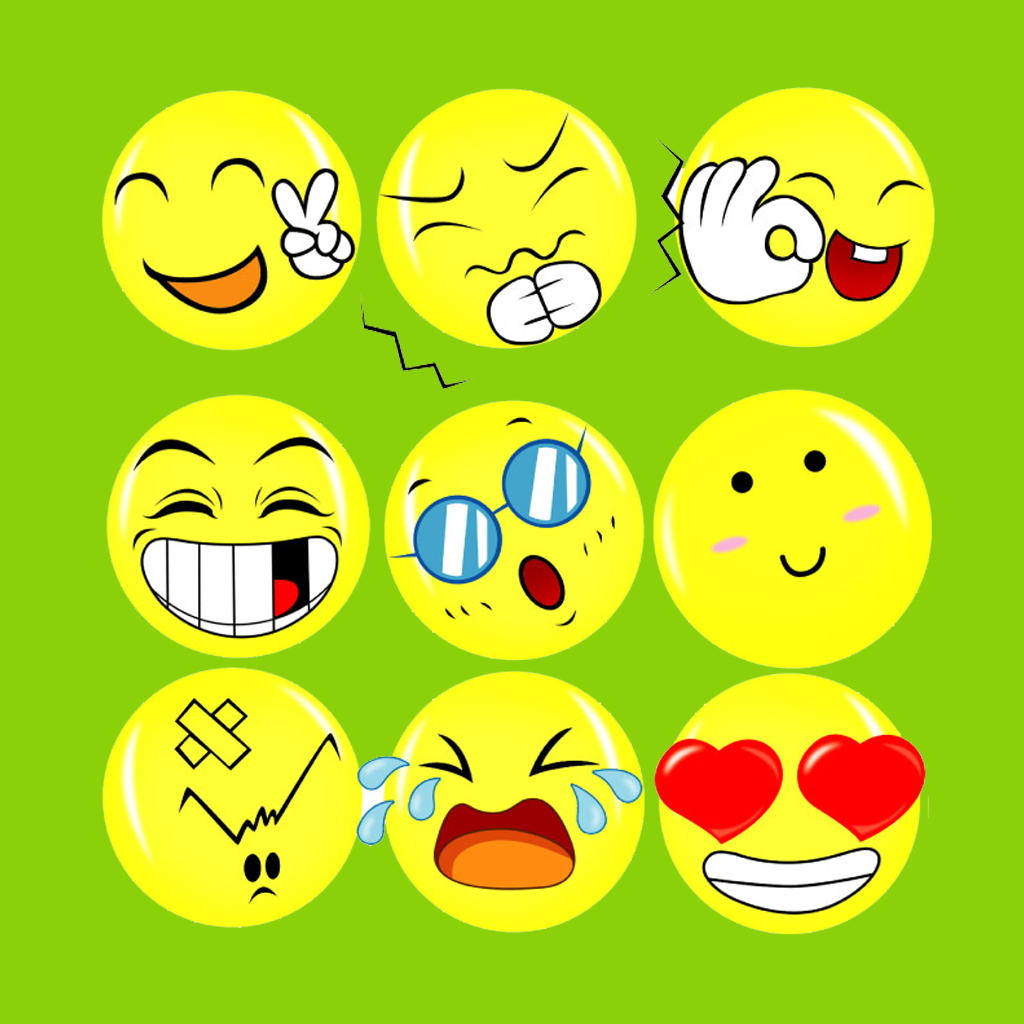 Emoji Emoticons... Free Digital Clip Art Maker