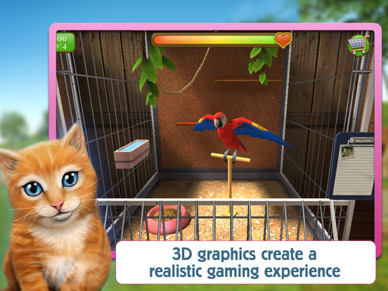 PetWorld 3D: My Animal Rescue FREE screenshot