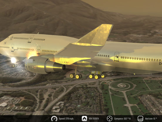 Screenshot #3 for Flight Unlimited 2K16 - Flight Simulator